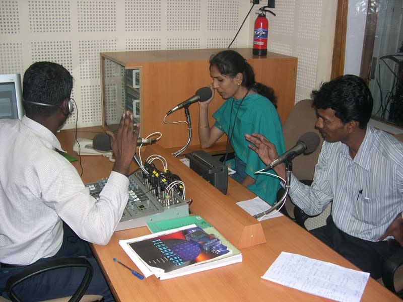 Studio at Anna FM @ 90.4,